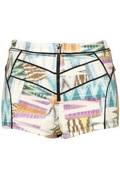Topshop's Aztec Knicker Shorts. I don't really like shorts, and showing my legs off all that much, but there is something about these that I just can't explain. This summer I'm determined to get my pins toned and bronzed so I can wear these! At £22.00 I think they're really different and versatile, yes please Topshop.