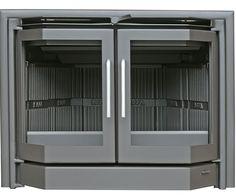 Insertable Salgueda Pireo 2 puertas, disponible en Expochimeneas. Sevilla