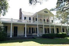 Linden Hall, Natchez, Miss.  Stayed here.