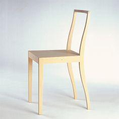 Jasper Morrison - Ply-Chair - Design: 1988 - Production: 1989 - 2009 - Producer: Vitra AG Basel - Height: 84,5 Width: 39,5 Depth: 47 Sh: 47,5 cm - Material: Sperrholz, Birkenholzfurnier