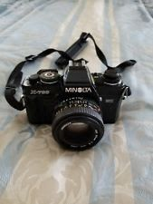 Minolta X-700 Manual Film Camera with MD 50mm Lens MINT CONDITION