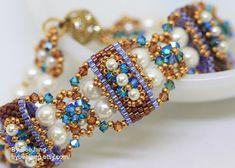 PDF Tutorial Deepika Carrier Beads bracelet earrings Beading