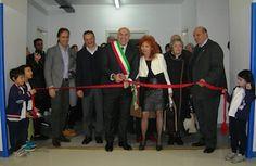 Chieti, inaugurata la palestra della scuola di via Paolucci