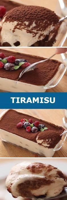 Tiramisu is my big favorite! I will definitely do it for s … – Sweet Varieties Tiramisu For Two Opi, Tiramisu Trifle, Bakery Recipes, Cooking Recipes, Tasty, Yummy Food, Sweet Cakes, Deserts, Food Porn