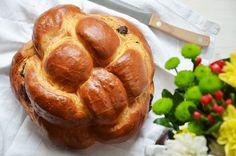 Kublanka vaří doma - Čokoládový challah Challah, Pretzel Bites, Baked Potato, French Toast, Muffin, Sweets, Bread, Baking, Breakfast
