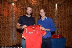 Wales inside centre Jamie Roberts was given the royal seal of approval ahead of Pool A decider with Australia