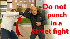 Do not punch in a street fight, best Instructor ever, Master Wong. Love this guy.