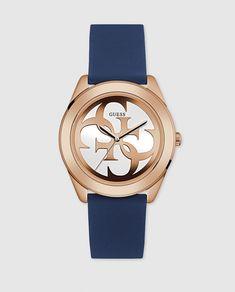 10303c3cadf Reloj de mujer Guess W0911L6 Trend de silicona Relógios Guess