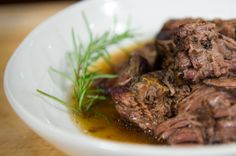 Buttery Pepper Encrusted Pot Roast