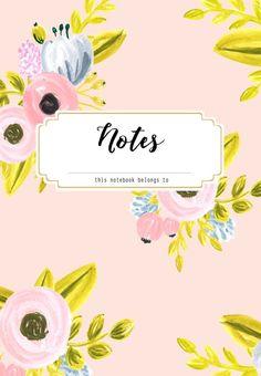DIY Custom Notebooks with 4 Free Designs Diary Cover Design, Notebook Cover Design, Notebook Covers, Journal Covers, Binder Covers Free, Binder Cover Templates, Creative Notebooks, Cute Notebooks, Beautiful Notebooks