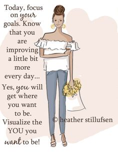 Wall Art for Women - Visualize the You You Want to Be- Wall Art Print - Digital…