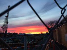 #eastboston #sunset (but also #gentrification)