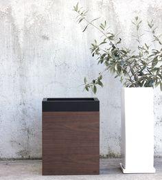 ゴミ箱 木製 MODERN DUST 10L
