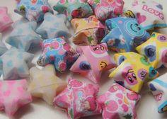 Como hacer estrellas en 3D origami. How to make Lucky stars origami. . e...
