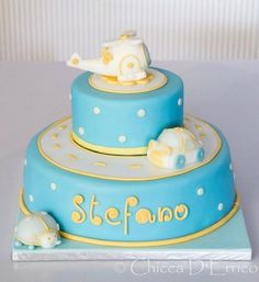 Christening cake for stefano  Cake by AliceInSugarland