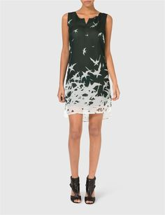 London Placement Print Dress | J.Lindeberg
