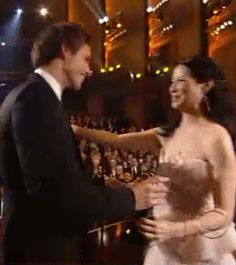 "addictedtoeddie: ""Tony Awards June 13, 2010Eddie won his Tony Award six years ago - video Happy Birthday to Eddie's mom Patricia Redmayne! "" Proud moment 💕"