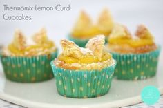 Thermomix Lemon Curd Cupcakes