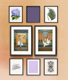 Frame Game: Mexican Getaway for a Royal Jetsetter • Frame Game isanoccasional series in which I take readers' gallery wall requests and find art that fits their personalities •Little Gold Pixel