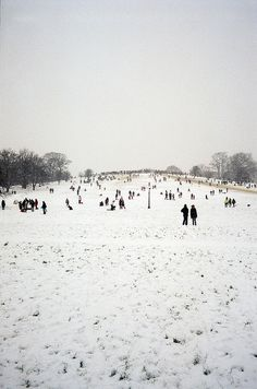 Primrose Hill, London... snow London Snow, London Winter, Primrose Hill London, London Style, Fallen London, London Places, London Life, Great British, London Calling