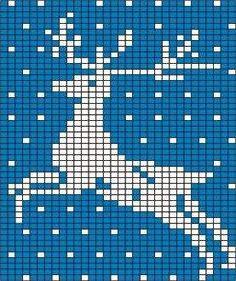 ru / Photo # 9 - different - irinika Crochet Pixel, Crochet Chart, Christmas Knitting, Christmas Cross, Knitting Charts, Knitting Stitches, Crochet Stitches Patterns, Knitting Patterns, Cross Stitch Charts