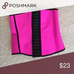 NWOT Waist Trainer NWOT Waist Trainer. Bright Pink Tops Blouses