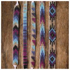 Seed Bead Friendship Bracelets