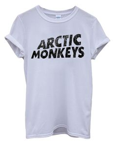 New Arctic Monkeys T-shirt Rock Band Unisex Top T-Shirt: Amazon.fr: Vêtements et accessoires