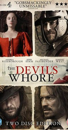 """Set between the years 1642 and """"The Devil's Whore"""" charts the progress of the English Civil War through the eyes of the a 17 year old girl, the fictional Angelica Fanshawe. Teen Movies, Good Movies, Movie Tv, Tom Goodman Hill, Movie Hacks, Netflix Hacks, Movie Ideas, Denis Lawson, Period Drama Movies"""