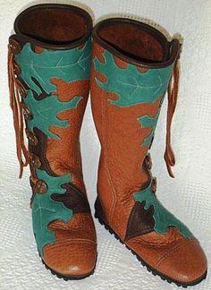 boot moccasins handmade   Custom Buffalo Moccasins, Custom Leather Boots, Custom Handmade Boots ...