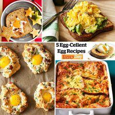 #recipes #eggs #yummy #food   http://rachaelraymag.com/blogs/rachael-ray/2013/06/03/5-popular-easy-egg-recipes/
