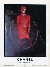 Chanel (Boutique) 1985 Inès de la Fressange Train