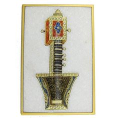 World Art Embossed Miniature Painting On Marble Plate Of Indian Music Instruments by ShalinCraft, http://www.amazon.co.uk/gp/product/B007T6PRKG/ref=cm_sw_r_pi_alp_KZ7xrb1KX57DY