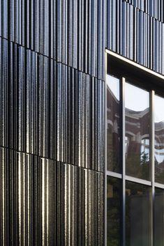 Rainscreen Cladding, Metal Cladding, Metal Siding, Building Skin, Building Facade, Terracotta, Facade Design, House Design, Retail Facade