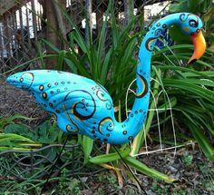repaint my faded flamingos