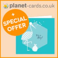 Free Planet Cards Baby Sample Pack and 30% Off