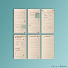 Travel PLANNER Midori Traveler's Notebooks by EasyLifePlanners