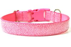 Sugar Glitter Dog Collar by Wagologie!