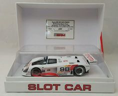 BRM Toyota 88C 1/24 Scale Slot Car Limited Edition 193 of 200 #BRM
