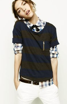 j.crew tomboy outfit   diffrent colored shirt, but other wise, its good!