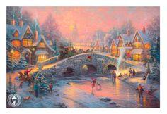 Spirit of Christmas - Thomas Kinkade