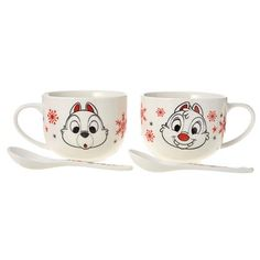 Chip & Dale Christmas Mugs