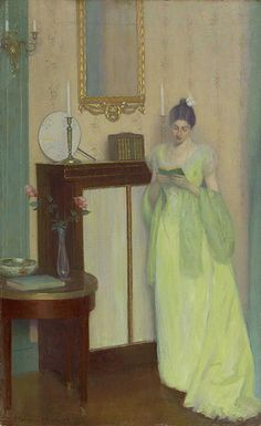 William Hart - Portrait of Mrs. Herbert Adams, 1899 - America