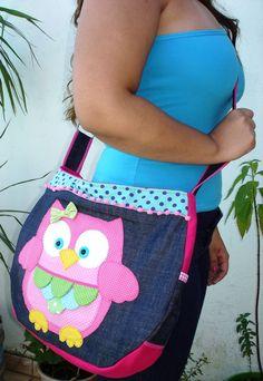 Owl Patterns, Purse Patterns, Owl Sewing, Owl Purse, Owl Bags, Felt Owls, Mk Handbags, Purse Organization, Recycled Denim