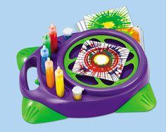 I always loved spin art! Pin to win Lakeshore's Motorized Spin Art Center on