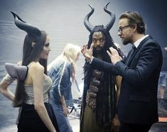 """""""I truly got to work with the most amazing cast on Maleficent: Mistress of Evil """" (via For see more of fitness life images visit us on our website ! Be With You Movie, Love Movie, Golden Globe Award Winners, Angelina Jolie Style, Movie Sequels, Walt Disney Studios, Disney Memes, Scene Photo, London Wedding"""