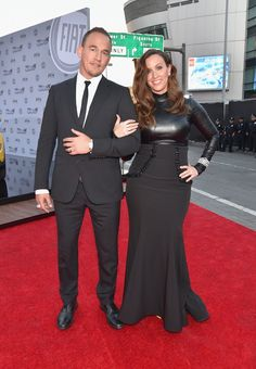 Pin for Later: Seht alle Stars bei den American Music Awards! Souleve und Alanis Morissette