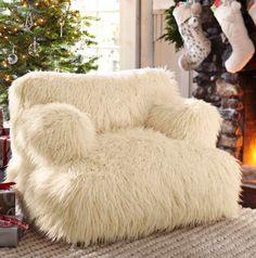 Fuzzy chair