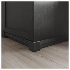 LERHYTTAN corner support for decorative base - black glazed - IKEA Austria Ikea Kitchen Design, Kitchen Cabinet Design, Interior Design Kitchen, Kitchen Ideas, How To Clean Furniture, Classic Furniture, Furniture Cleaning, Black Kitchens, Home Kitchens