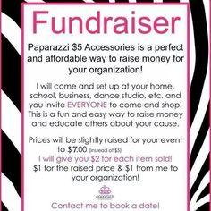 Fundraiser handout